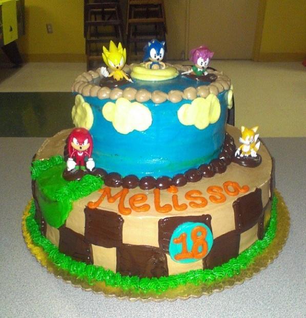 10 Knuckles Sonic Birthday Cakes Photo Sonic Birthday Cake Sonic