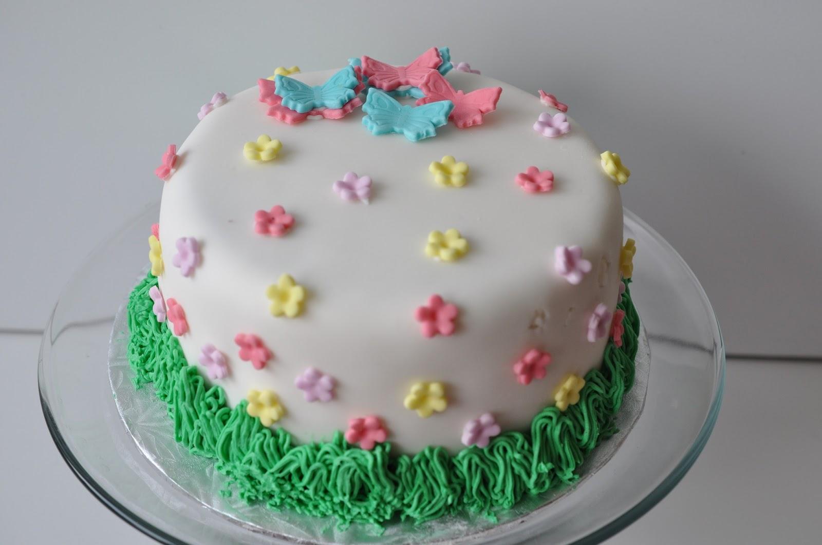 Awesome 11 Easy Birthday Cakes Spring Photo Spring Cake Ideas Birthday Funny Birthday Cards Online Alyptdamsfinfo