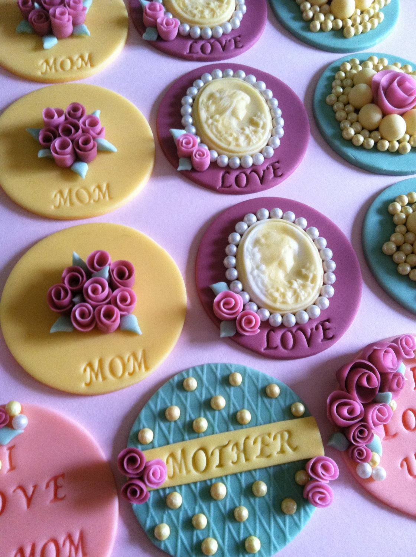 Vintage Cupcake Toppers