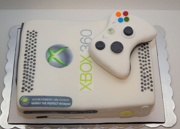 6 Game System Birthday Cakes Photo