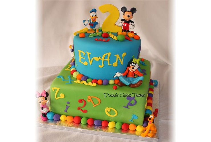 11 Cakes For 2 Yr Old Boys Photo 2 Year Old Birthday Cake Ideas 2
