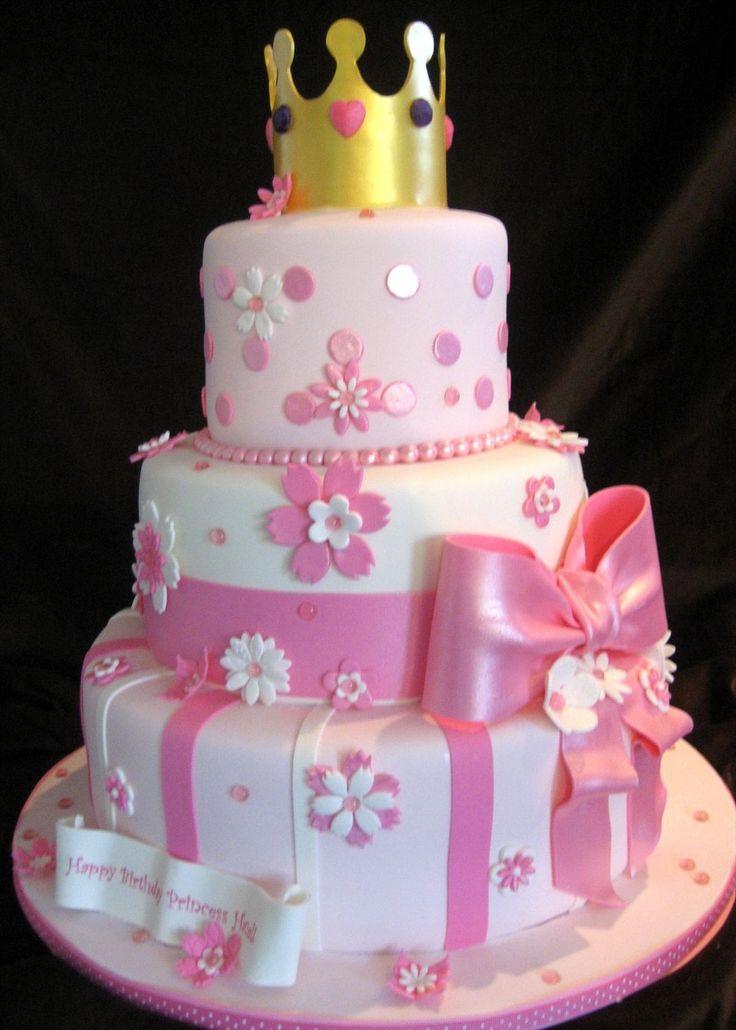 3 Year Old Girl Princess Birthday Cakes