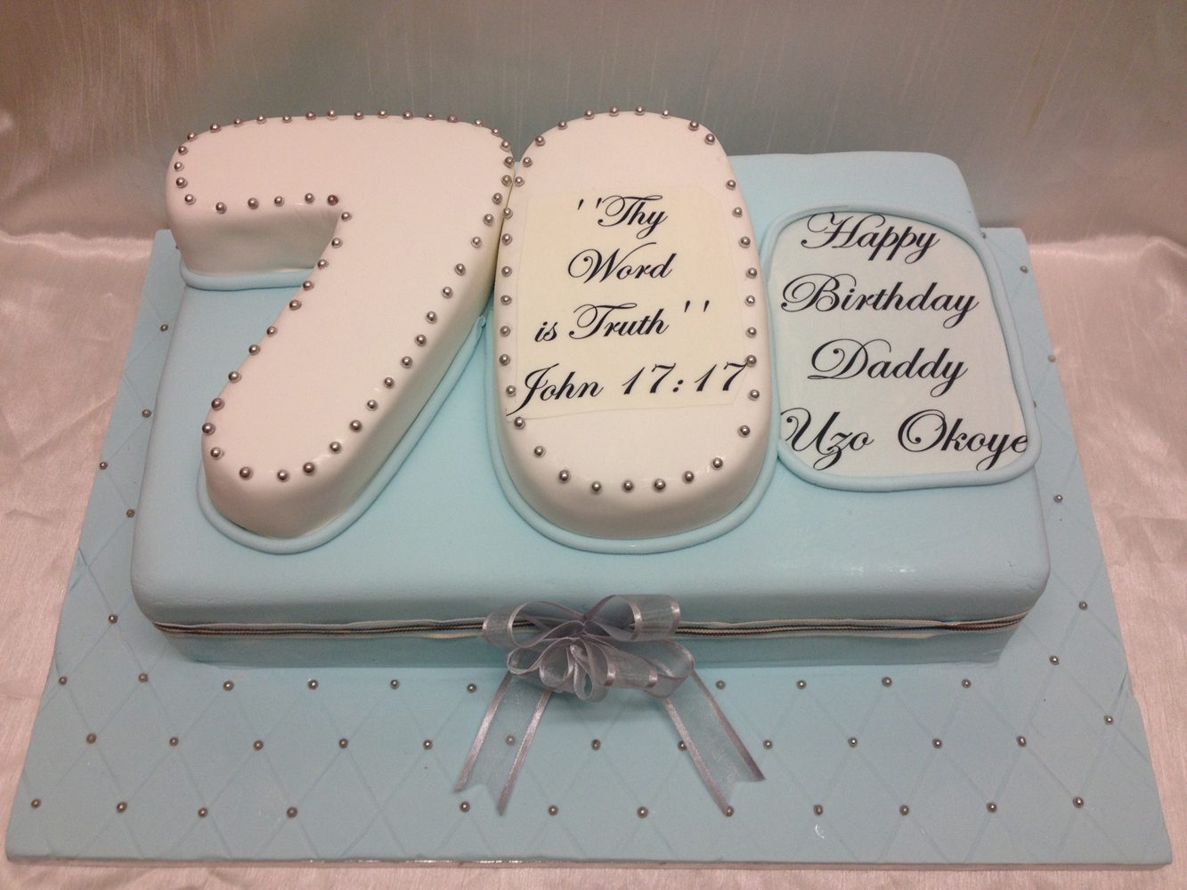 70 Birthday Cake Ideas