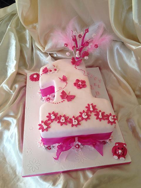 10 Birthday Cakes For Baby Girls 1st Birthday Ideas Photo Baby