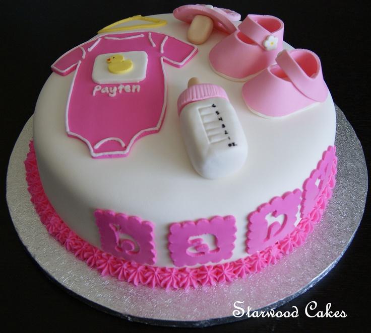13 Pinterest Decorating Baby Shower Cakes Photo Baby Shower Cakes