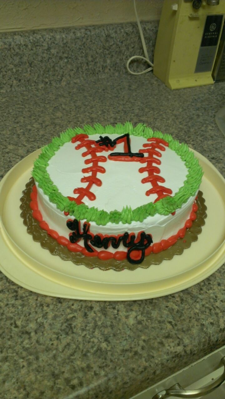 7 Baseball Cakes Pinterest On Photo Baseball Cake Ideas Baseball