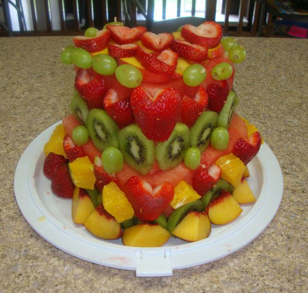 10 Cakes With Fruit In Them Photo Birthday Cake Made of Fruit