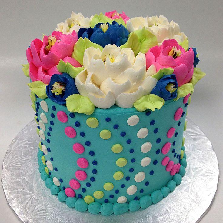 13 Buttercream Sheet Cakes For Women Photo Buttercream Birthday
