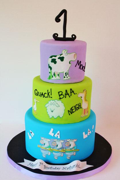 10 Photos Of Custom Birthday Cakes NJ