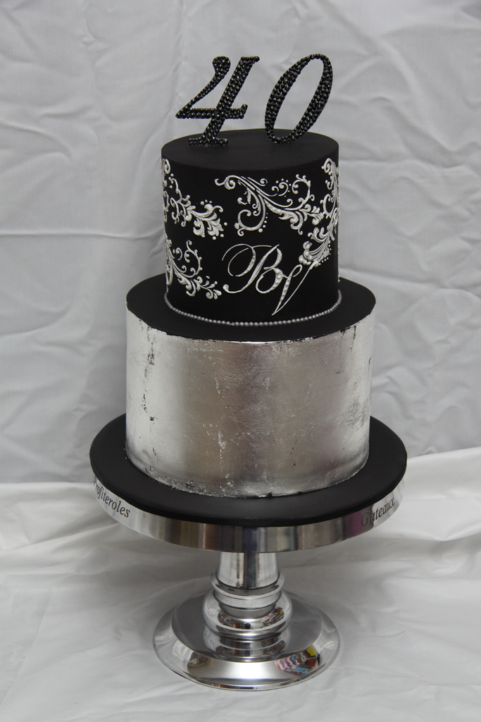 Elegant 40th Birthday Cakes For Men