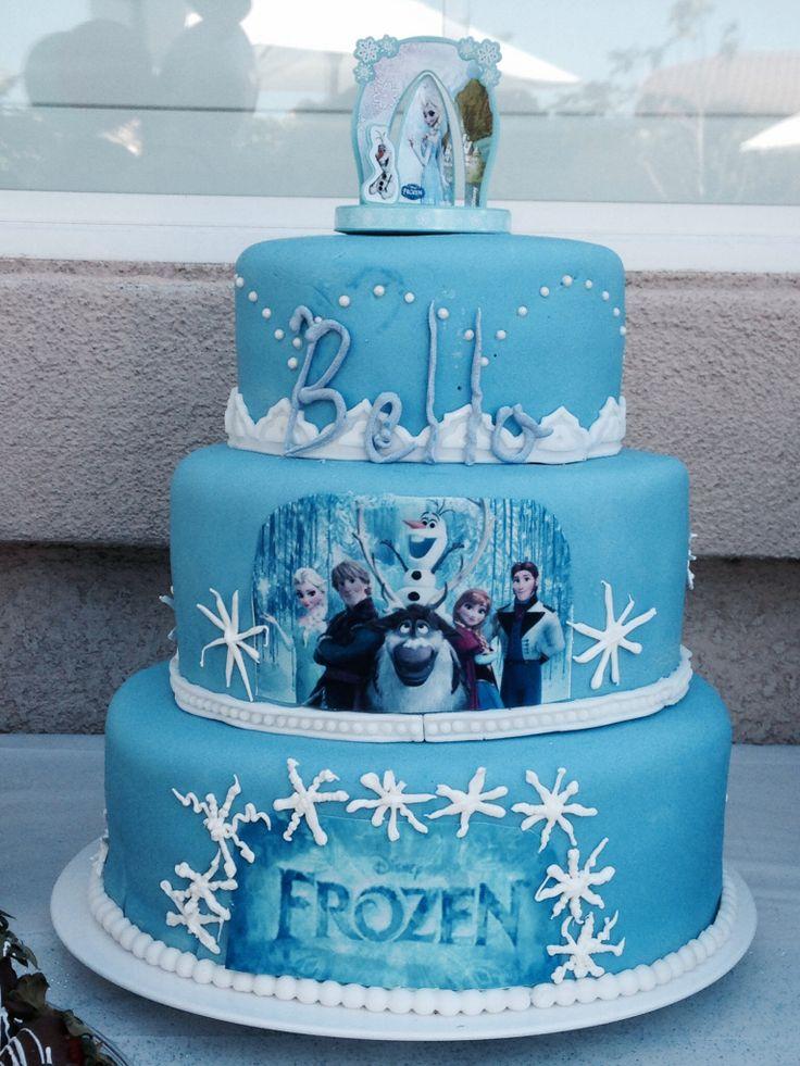 Stupendous 11 Best Birthday Cakes Frozen Photo Disney Frozen Theme Cake Personalised Birthday Cards Epsylily Jamesorg