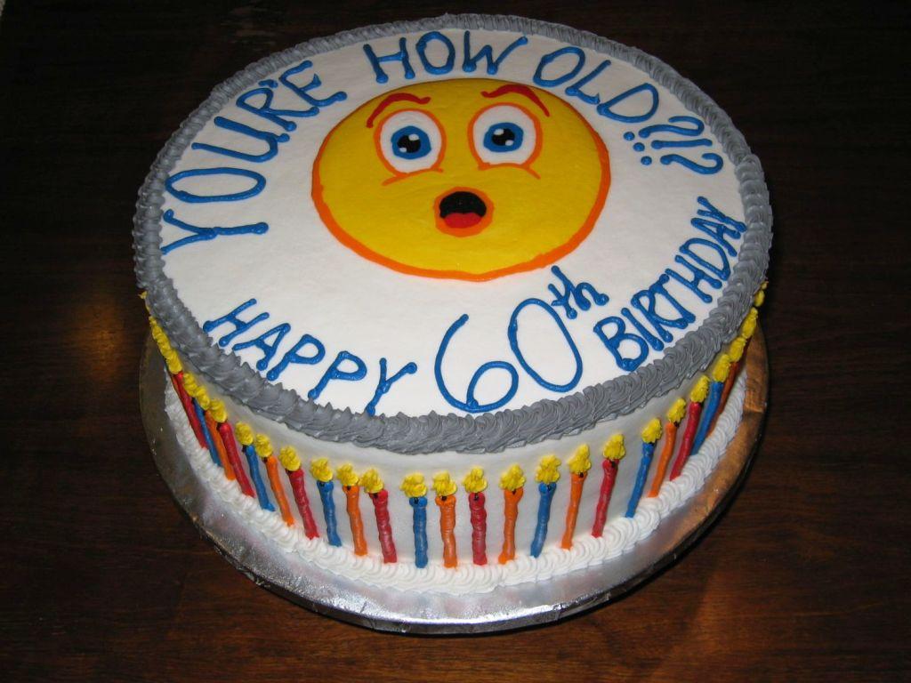 Brilliant 12 Fun 60Th Birthday Cakes Photo Funny 60Th Birthday Cake Ideas Funny Birthday Cards Online Fluifree Goldxyz