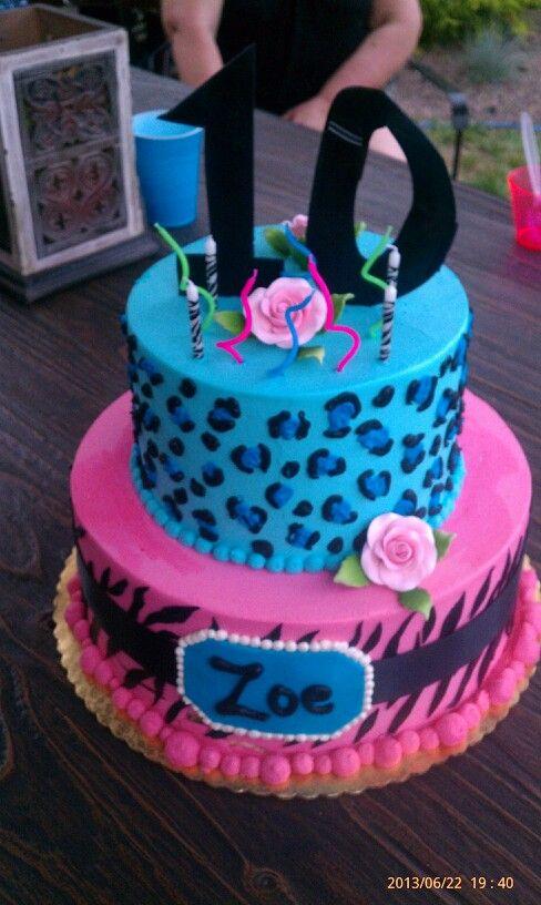 Magnificent 13 Animals Birthday Cakes For Girls 10Th Birthday Photo Girls Funny Birthday Cards Online Inifodamsfinfo