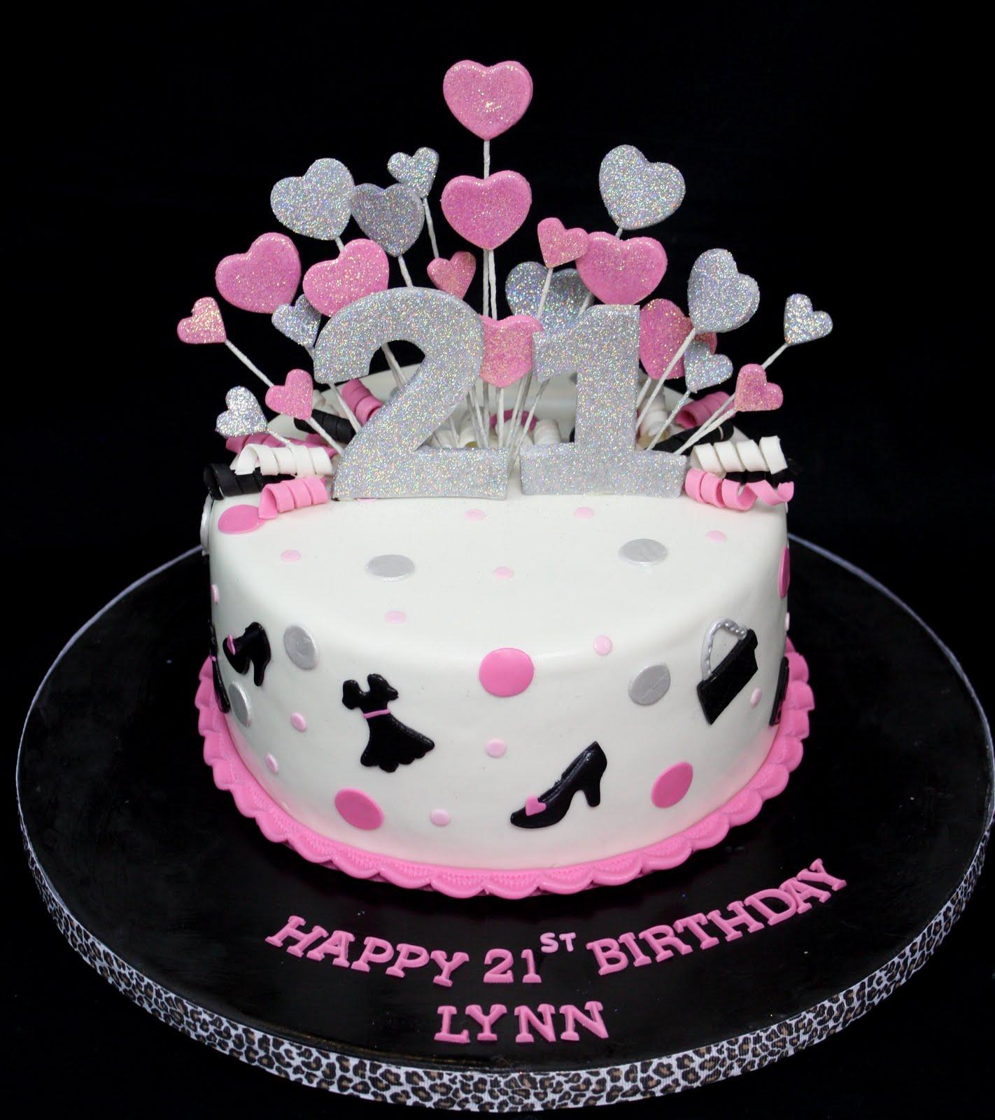 11 21st Bday Cakes For Girls Photo Girls 21st Birthday Cake Ideas