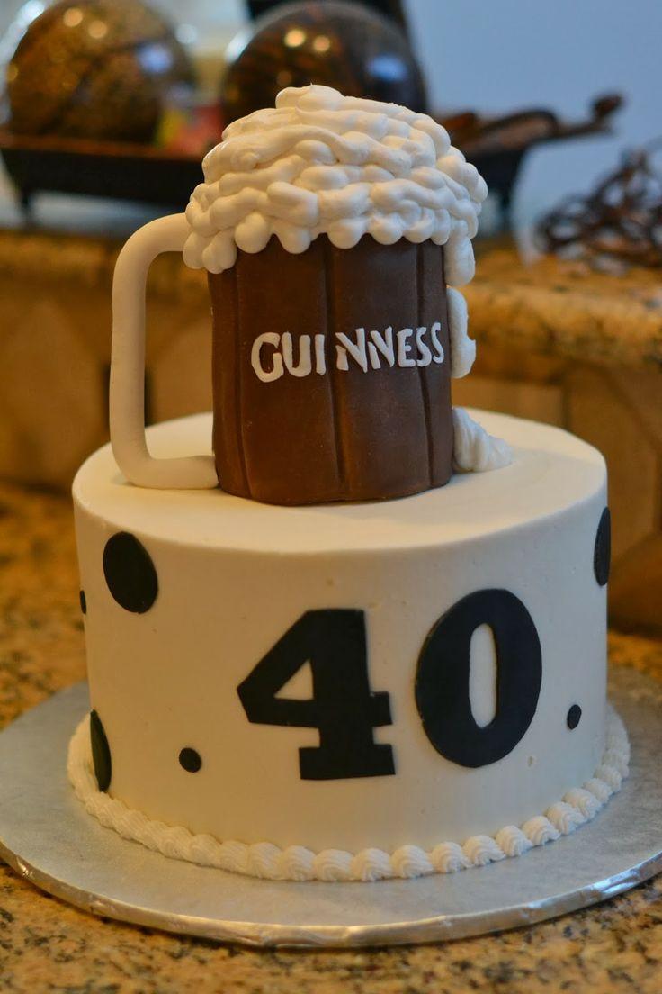 9 Funny Beer Birthday Cakes Photo