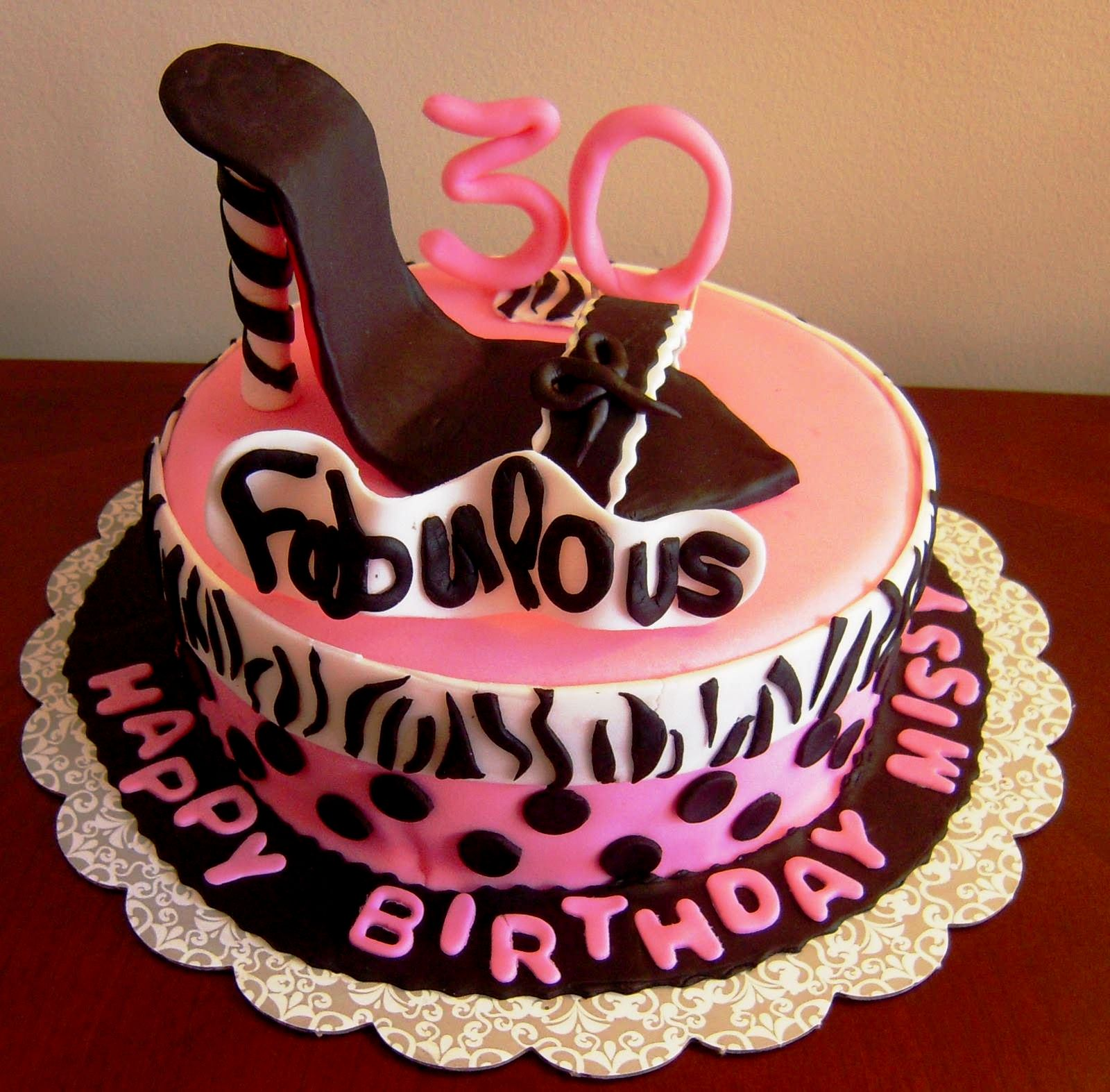 Happy 30th Birthday Cake Ideas