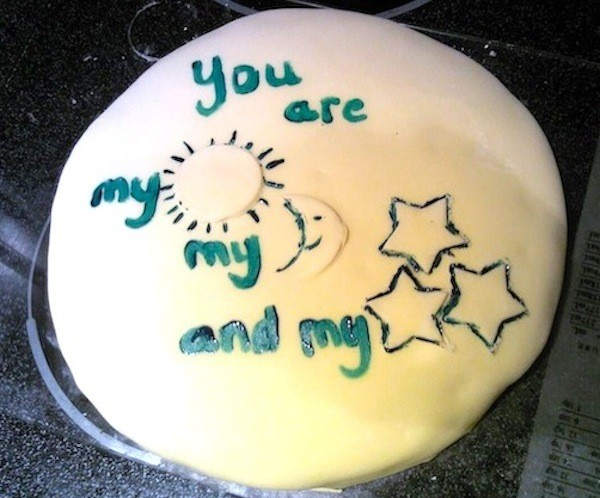 8 Funny Birthday Cakes For Husband Photo Fun Birthday Cakes For My