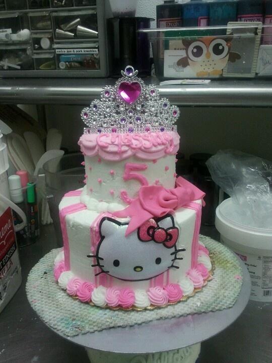 6 Hello Kitty Princess Birthday Cakes Photo Hello Kitty Princess