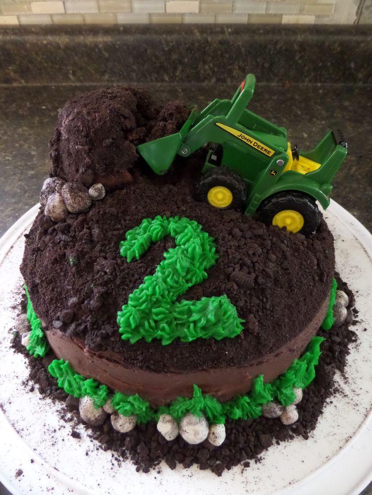 Tractor Birthday Cake Template