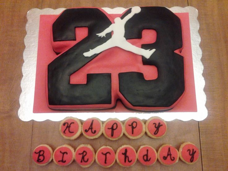 11 15th Birthday Cakes For Girls With Jordan And Nike Signs Photo