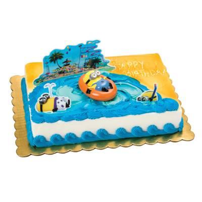 Minions Beach Party Cake