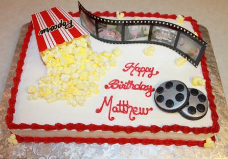 12 Movie Themed Birthday Sheet Cakes Photo - Movie Themed Birthday ...