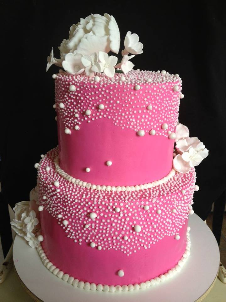 12 Pink Brith Day Cakes Photo Pink Birthday Cake Beautiful Pretty