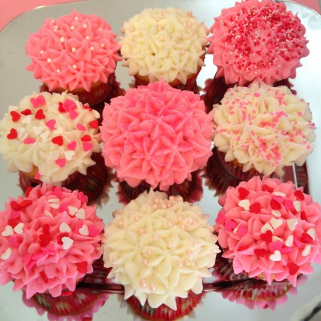 7 Pinterest Valentine Cupcakes Photo Valentine Cupcake Decorating