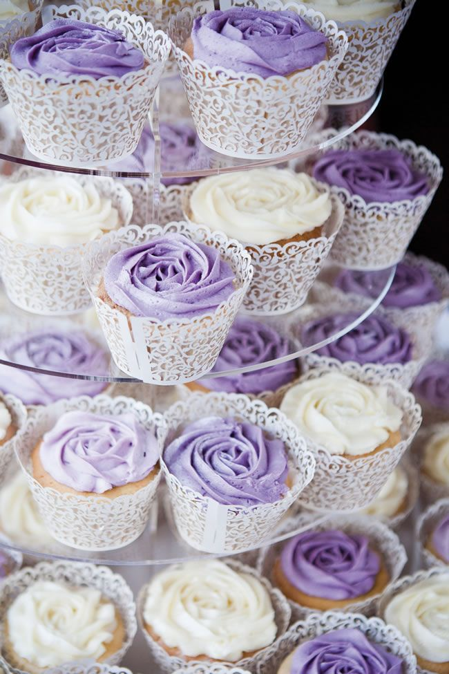 11 Purple Themed 6 Inch Cakes Photo Purple Theme Wedding Cake
