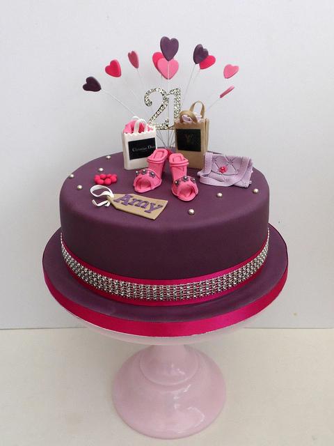8 Shoppers Bakery Cakes Photo Shopping Theme Birthday Cake