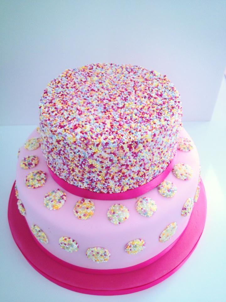 6 8 Base 6 Top 2 Tier Birthday Cakes Photo Happy Birthday Faith