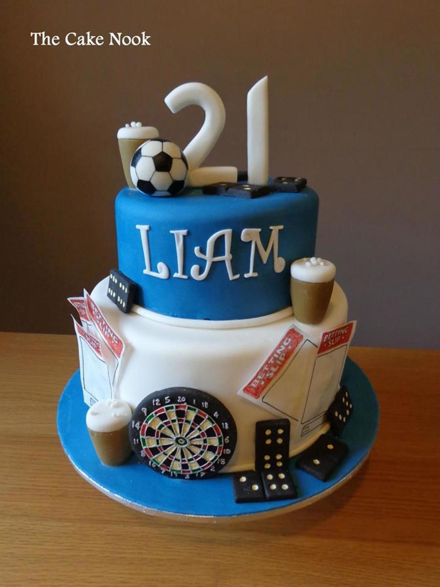 Tremendous 12 21St Birthday Cakes For Men Photo Guys 21St Birthday Cake Personalised Birthday Cards Epsylily Jamesorg