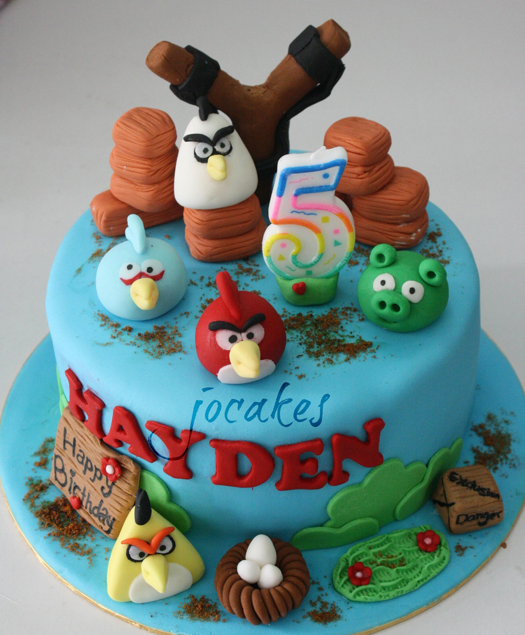 5 Year Old Birthday Cakes