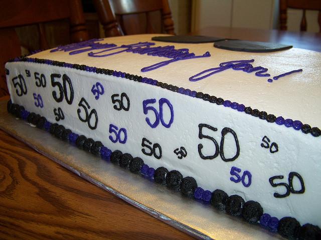 7 50th Birthdays Sheets Cakes Idea Photo 50th Birthday Sheet Cakes