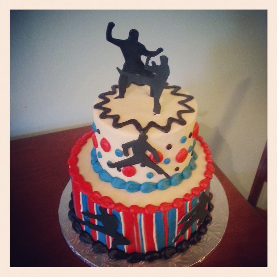 American Ninja Warrior Cake Topper - American Prize Winning