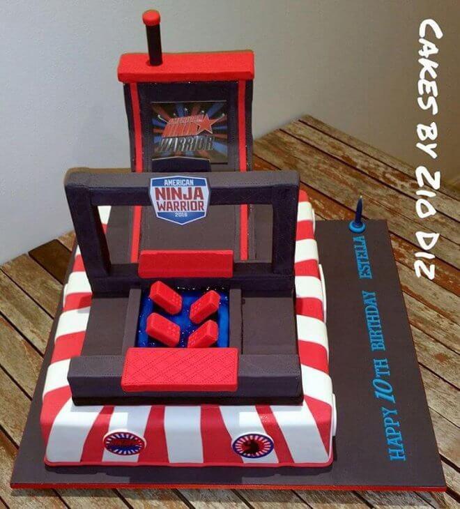 11 American Ninja Cupcakes And Cakes Photo - American Ninja