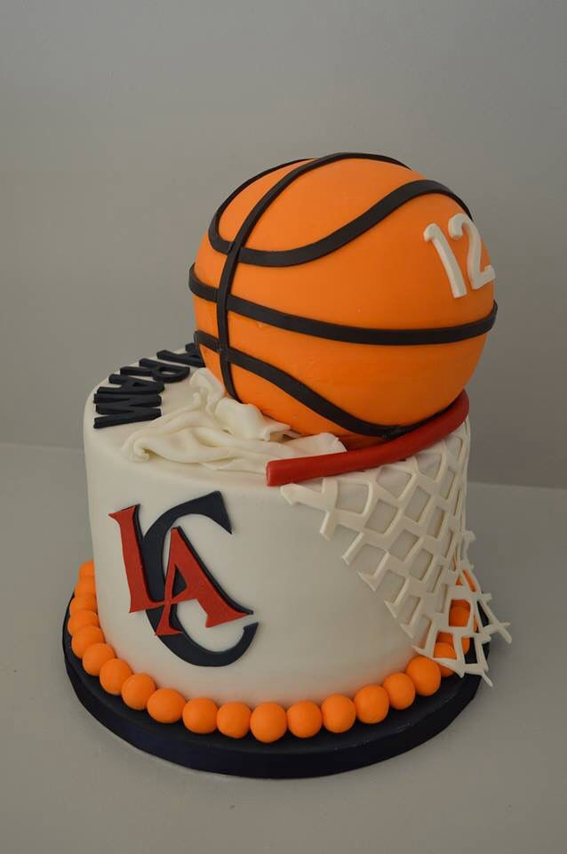 12 Cool Birthday Cakes Basketball Clippers Photo Clippers