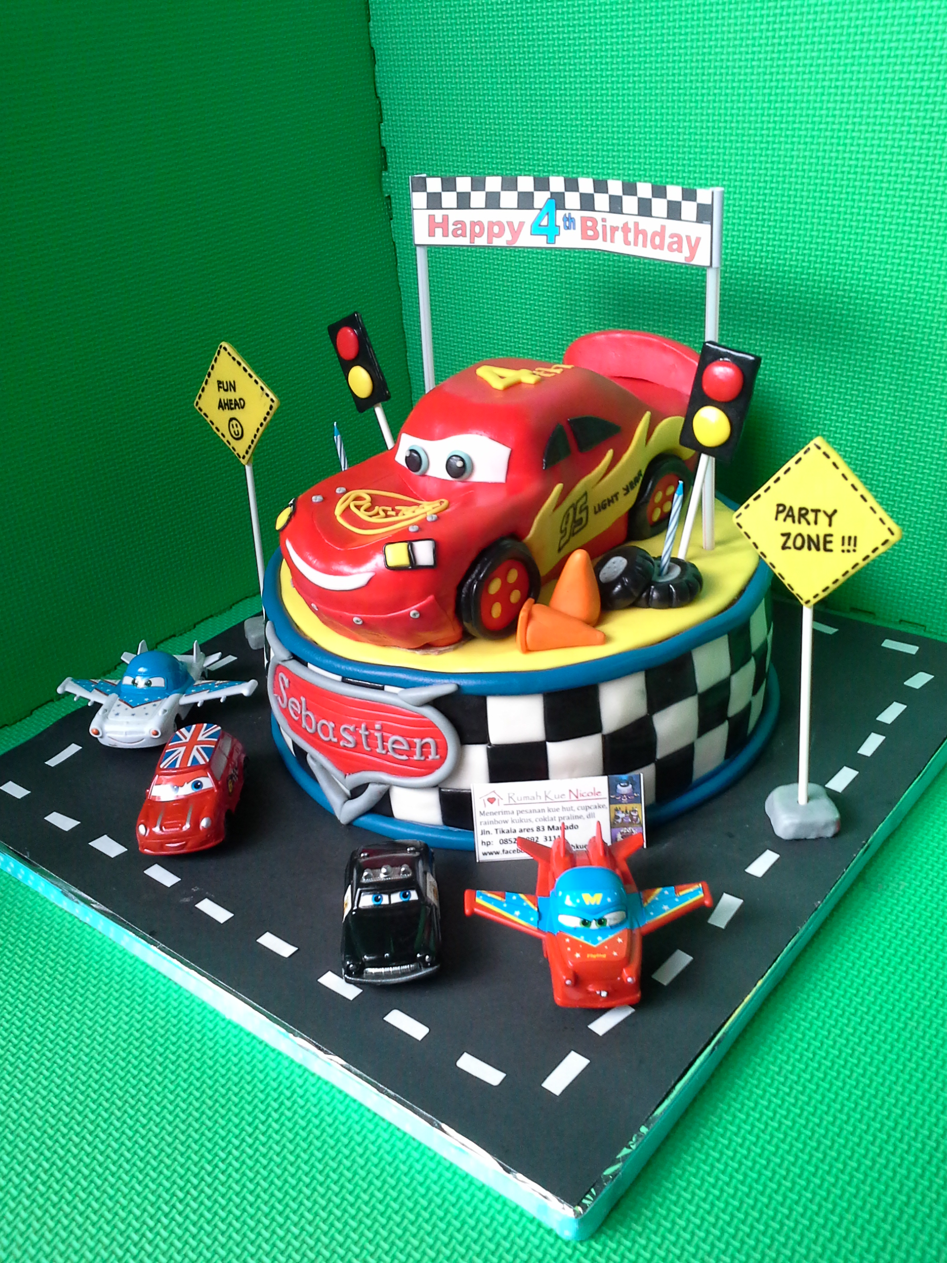Surprising Cake Design Cars Disney The Cake Boutique Funny Birthday Cards Online Alyptdamsfinfo