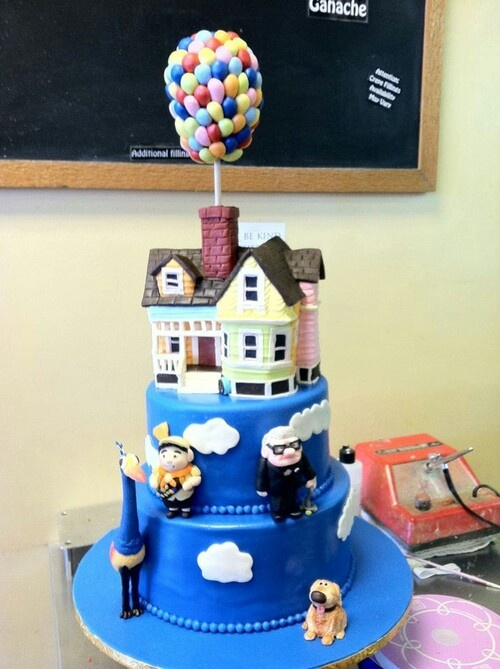 11 Pixar Birthday Cakes With Buttercream Icing Photo Disney Pixar