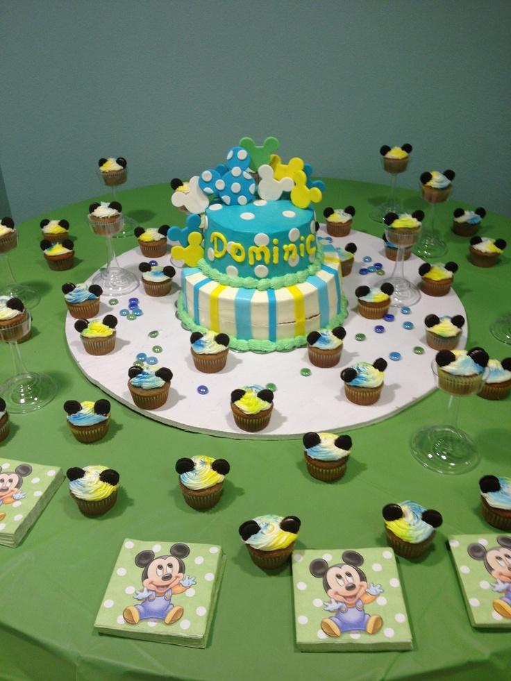 Disney Themed Baby Shower Cakes