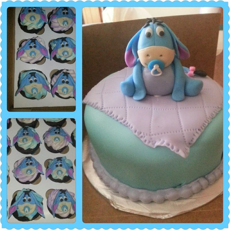 Disney Themed Baby Shower Cakes
