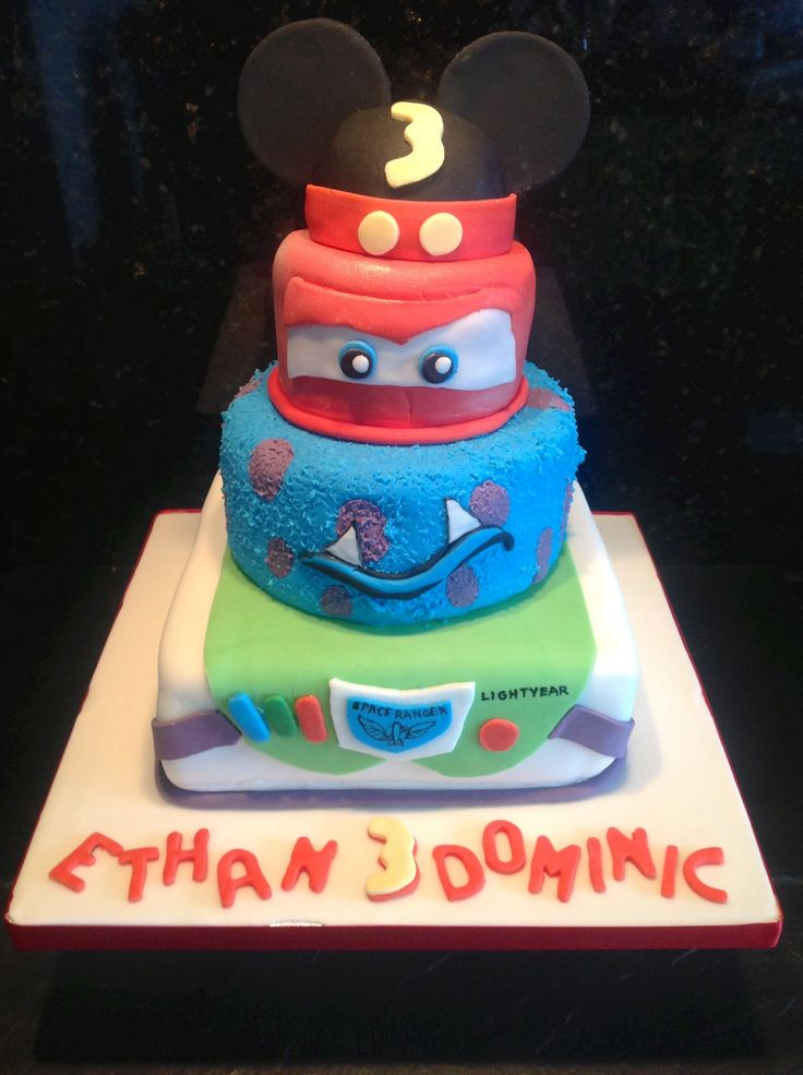 Awesome 6 Matter Themed Cakes Disney Photo Toy Story Themed Birthday Funny Birthday Cards Online Inifodamsfinfo
