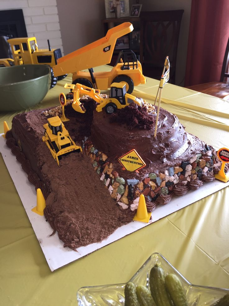 8 Dunk Cakes With Trucks Photo First Birthday Cake Monster Truck