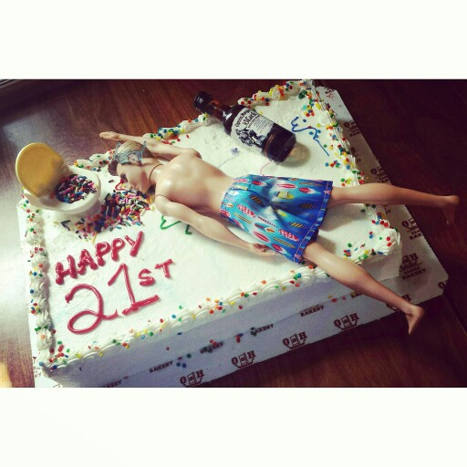 Funny 21st Birthday Cake Ideas For Men