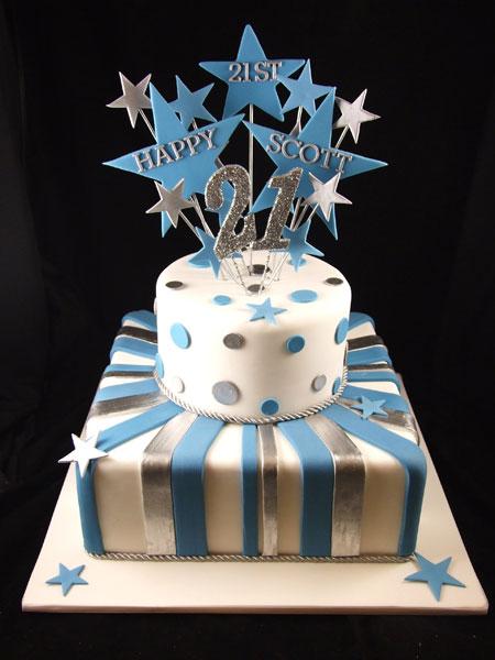 Excellent 12 21St Birthday Cakes For Men Photo Guys 21St Birthday Cake Funny Birthday Cards Online Benoljebrpdamsfinfo