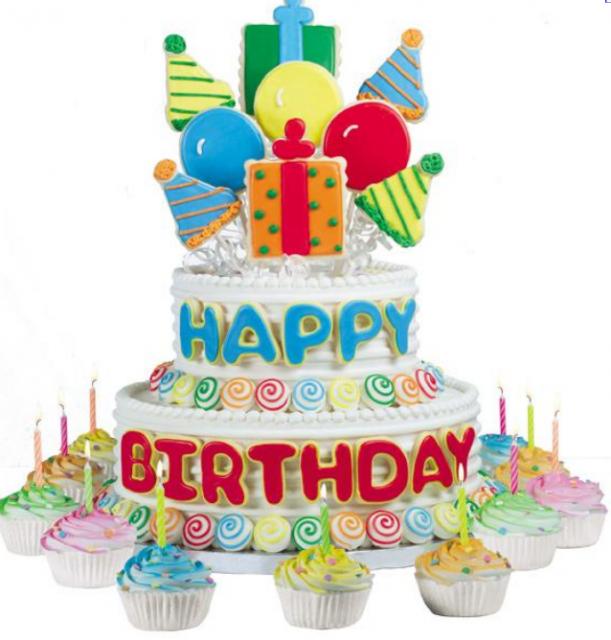 Happy Birthday Cake Balloons Images