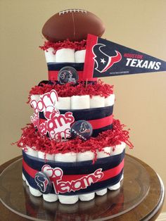9 Houston Texans Baby Shower Cakes Photo Houston Texans Baby