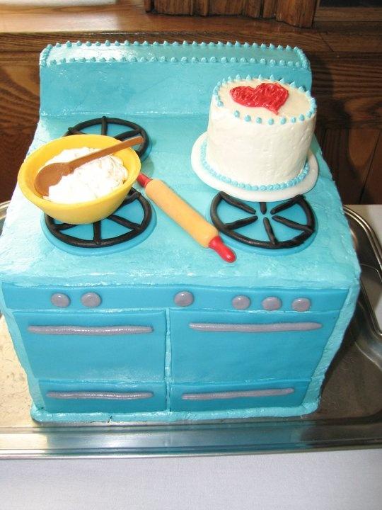 13 Kitchen Themed Cakes Photo Kitchen Themed Bridal Shower Cake