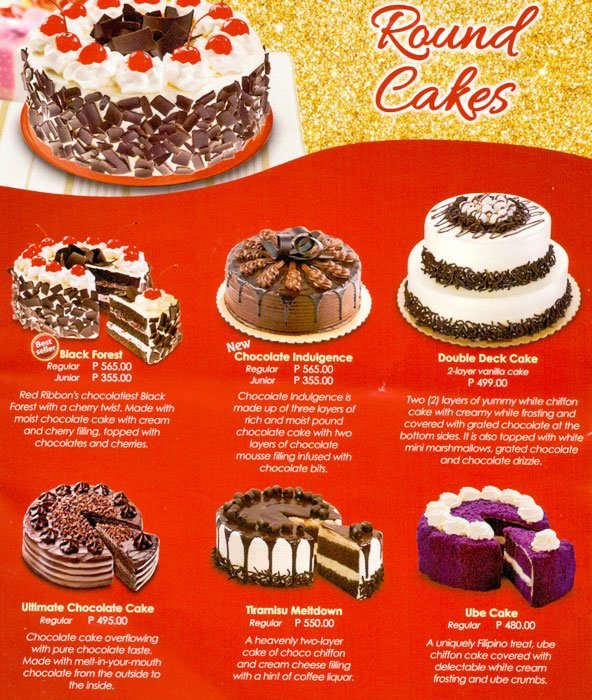 How Much Red Ribbon Double Deck Cake Cake Recipe