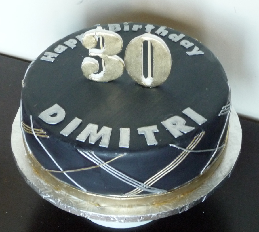 Simple Birthday Cakes For Men